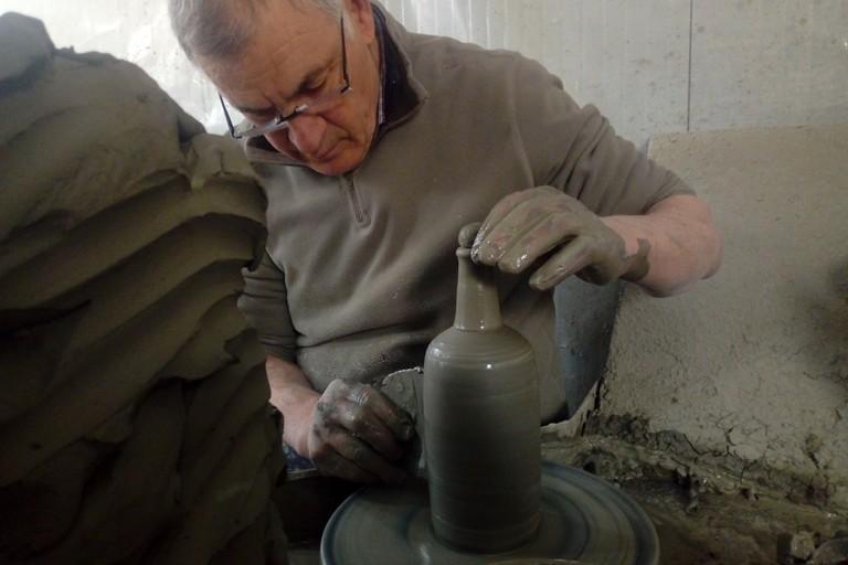 Paolo dAniello ceramista. <span>Foto Cosma Cacciapaglia</span>