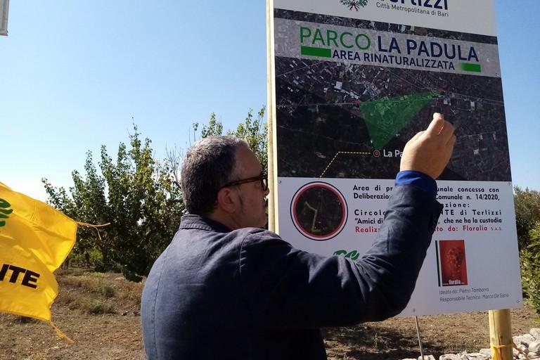 """A Terlizzi nasce il Parco """"La Padula"""", un'idea di Legambiente"""