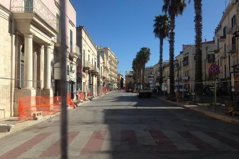 Piano strade quarto tratto JPG. <span>Foto Cosma Cacciapaglia</span>