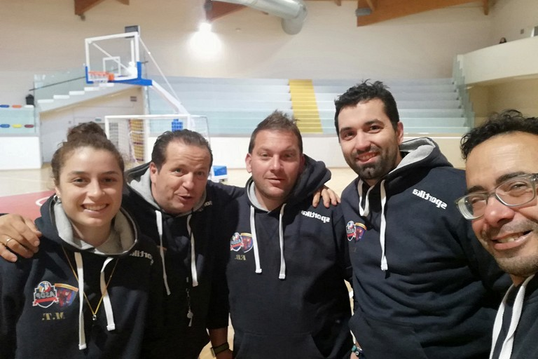 Lo staff della Polisportiva Terlizzi. <span>Foto Gianluca Battista</span>