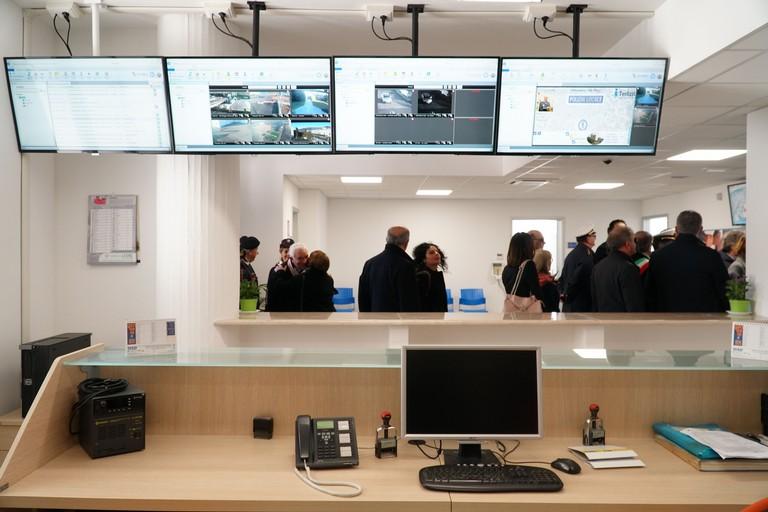 La nuova control room. <span>Foto Ufficio Stampa Comune di Terlizzi</span>