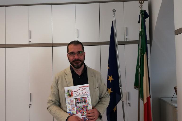 Il prof. Monopoli. <span>Foto Francesco Pittò</span>
