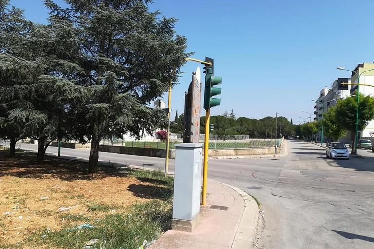 Rotatoria via Giovinazzo