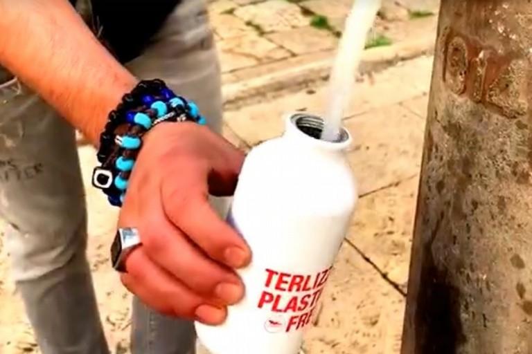 La borraccia Terlizzi Plastic Free