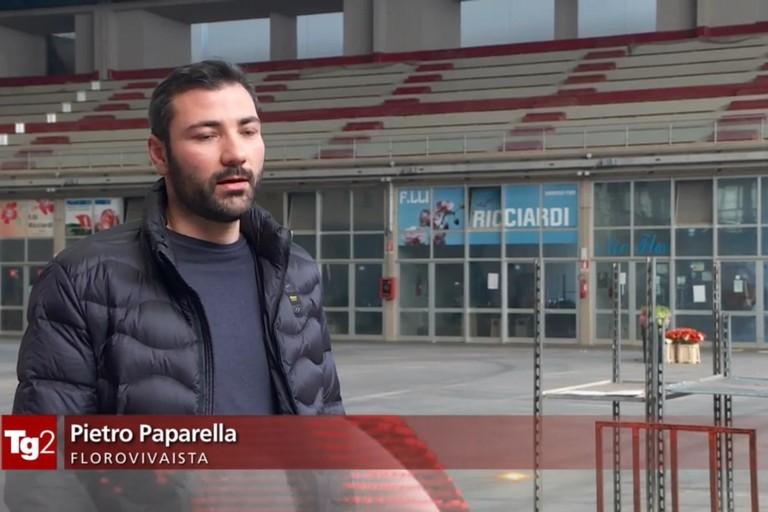 Pietro Paparella al Tg2
