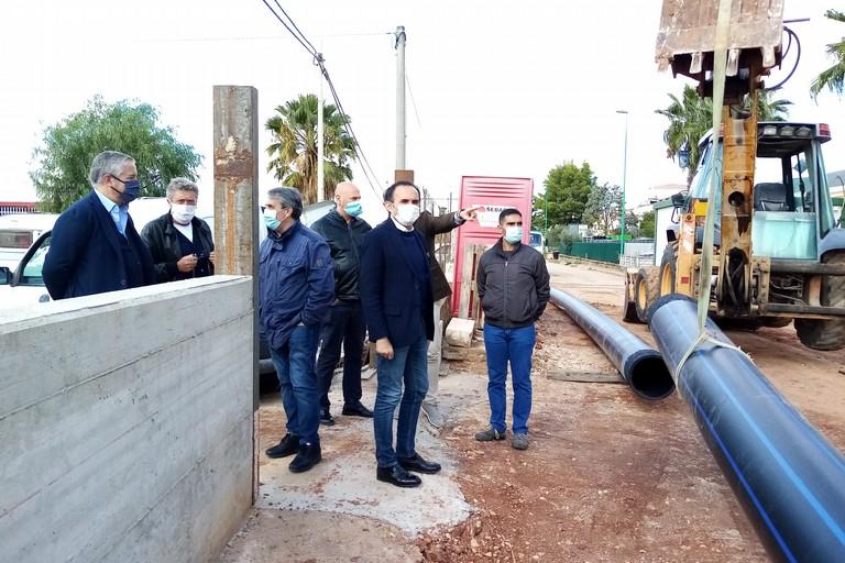 Sopralluogo cantiere via Mariotto dellAmministrazione. <span>Foto Cosma Cacciapaglia</span>