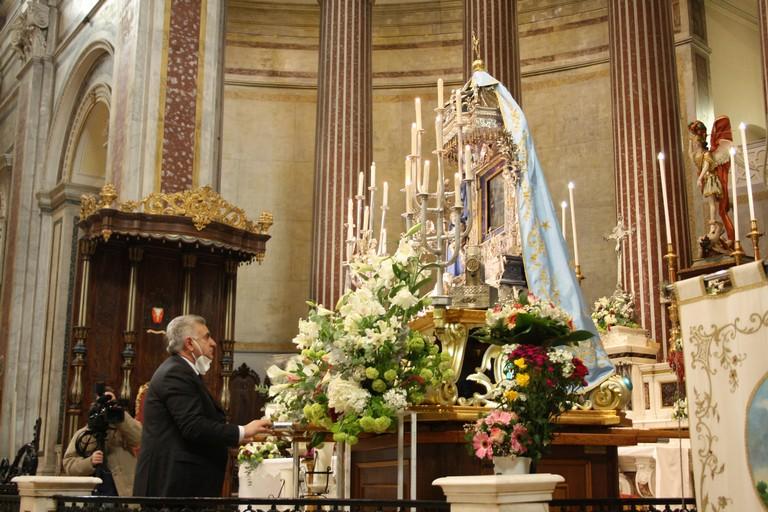 Supplica alla Madonna di Sovereto dalla Cattedrale Terlizzi JPG. <span>Foto Cosma Cacciapaglia</span>