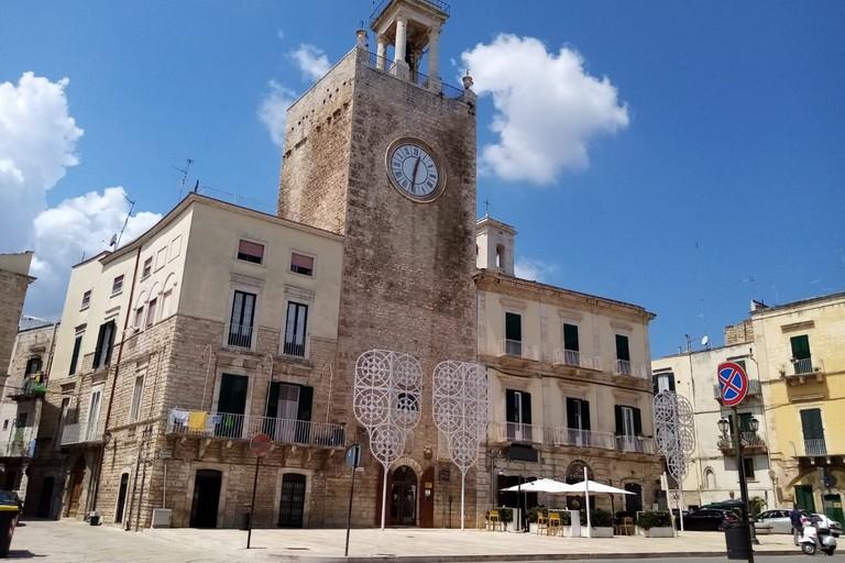 Torre dell'Orologio. <span>Foto Cosma Cacciapaglia</span>
