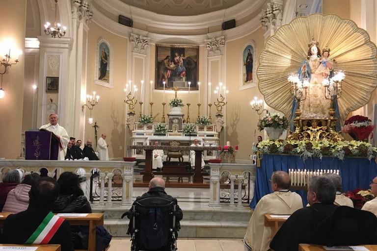 Vescovo Madonna del Rosario