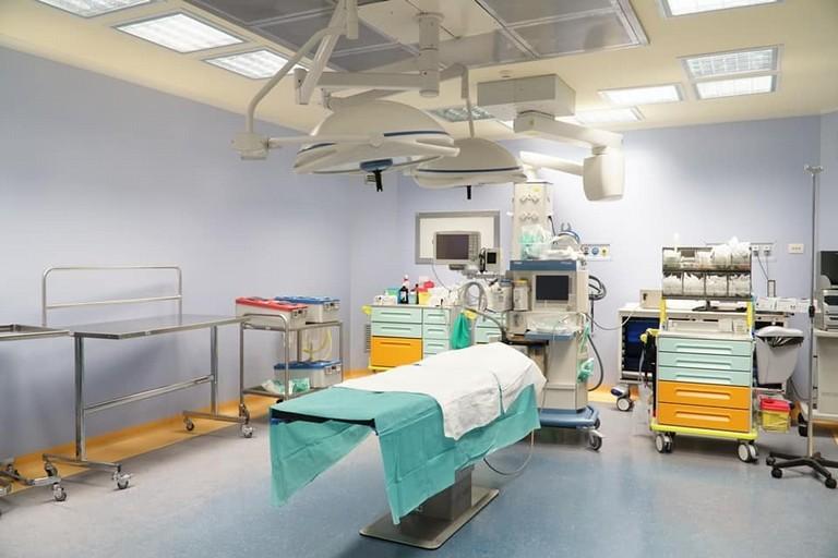 sala operatoria ospedale di Terlizzi