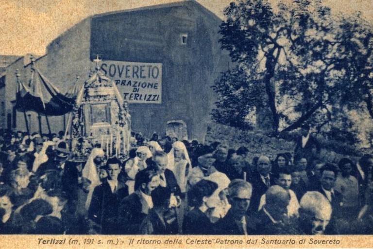 Foto storiche Festa MAggiore. <span>Foto Archivio Pietro Guastamacchia</span>