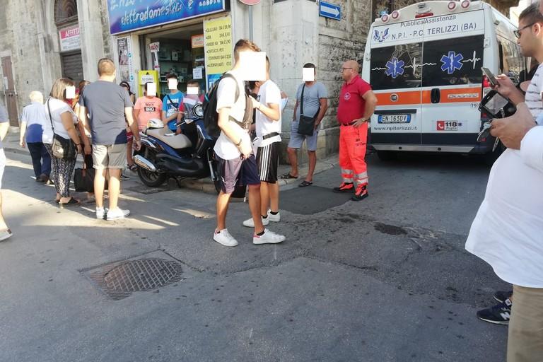 incidente viale Roma